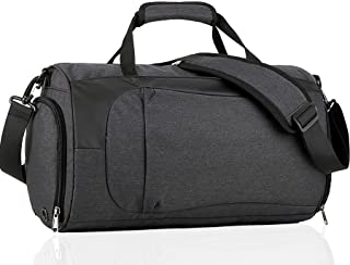 Bolsa de Gimnasio Vagalbox Bag Gym Bag Impermeable Bolsa de Viaje Deportivas Gran Capacidad 25L con Compartimento para Zap...