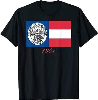 FLORIDA CIVIL WAR REGIMENT 1861 IN GOD FLAG t-shirt