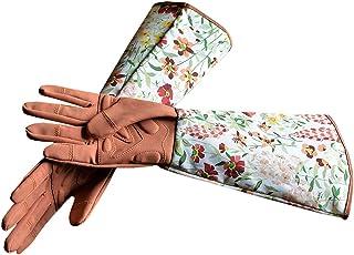 Women Extended Long Pro Rose Pruning Gardening Gloves,Garden Gloves