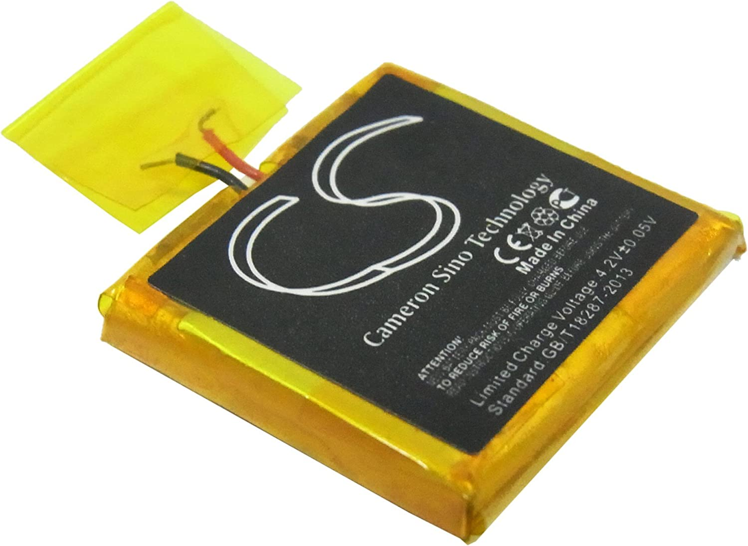 Cameron Super intense SALE Sino 100mAh Replacement Battery G iPod 2021 model for Shuffle Apple