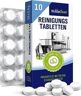 WoldoClean tablettes de nettoyage pour machine à café entièrement automatiques 10 pastilles