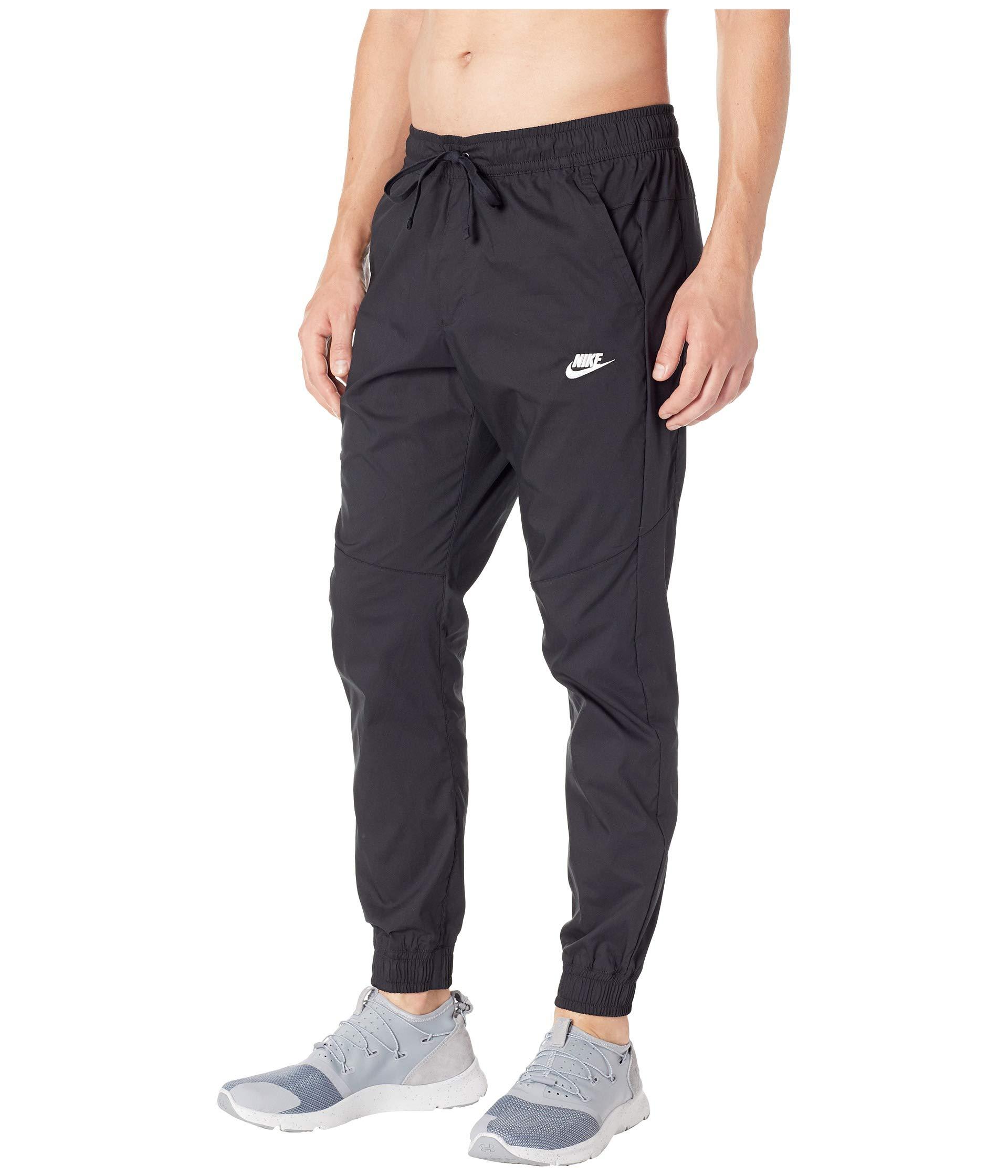 Core Nike white Nsw Black Street Jogger Woven Uw8aB7