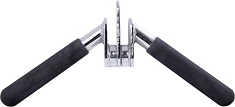 CAP Barbell Solid Triceps Press Down Bar
