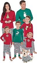 PajamaGram Matching Family Christmas Pajamas, Red/Green