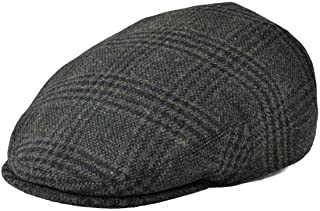Men's Wool Tweed Newsboy Ivy Cap Gatsby Golf Flat Hat
