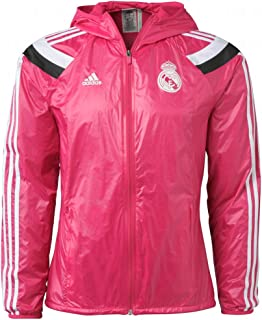 Real Madrid FC Pink Windbreaker Jacket New with Tags