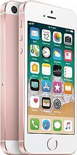 Apple iPhone SE, 1st Generation, GSM Unlocked, 64GB - Rose Gold (Renewed)