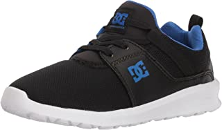 DC Boys' Heathrow Skate Shoe, Black/Royal, 13 M M US Little Kid