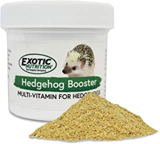 Exotic Nutrition Hedgehog Booster (2 oz.) - Complete Multivitamin - Powdered Vitamin & Mineral Supplement for Pet Hedgehogs