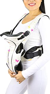 ToBeInStyle Comfortable Three Way Babby Carrier - Butterflies Pattern - OS