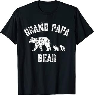 Vintage Grand Papa Bear with 2 Two Cubs Shirt Grandpa