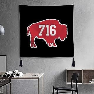 XREE Tapestry Wall Art Hanging Cloth Home Decor Living Room Bedroom - 716 Buffalo