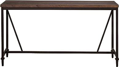 Hillsdale Furniture Hillsdale Trevino Sofa/Console Table, Brown