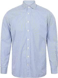 of London Mens Bengal Stripe Shirt in Navy
