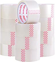Packatape Transparant pakketplakband, 66 m lang en 48 mm breed, ideaal als plakband, verpakkingstape, verpakkingsmateriaal...