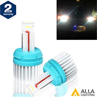 Alla Lighting Brightest T15 912 921 LED Back-Up Reverse Light Bulbs 2400Lm CANBUS 921 LED Bulb T15 W16W LED Bulbs CSP SMD 921 LED Back Up Reverse Light for Car Truck RV, 6000K Xenon White (Set of 2)