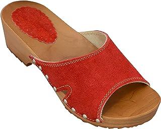 plus grand choix de vente professionnelle beau look Amazon.fr : talon - Rouge / Mules et sabots / Chaussures ...