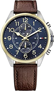 Tommy Hilfiger Men 1791275 Year-Round Analog Quartz Brown Watch