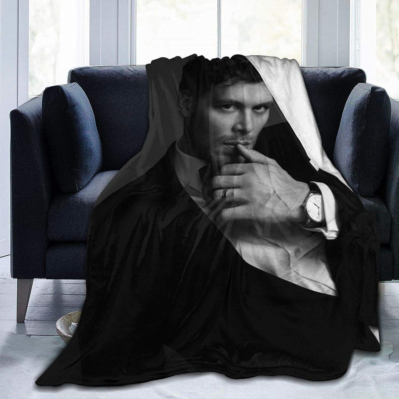 5 ☆ popular EAROBA Plush Throw Blanket Vam-Pire Fle Klaus-Mikaelson NEW before selling Flannel