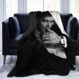 "EAROBA Plush Throw Blanket, Vam-Pire Klaus-Mikaelson Flannel Fleece Blankets for Couch Sofa 50""X40"""