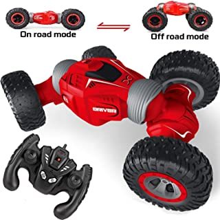 Eholder RC Remote Control Car Monster Truck 4WD RC Offroad Vehicles 2.4 Ghz High Speed RC Car Truck Offroad Rechargeable Remote Control Toy for Boys Kids Christmas Birthday Gift