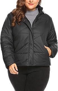 W17151 Fashion Casual Gray//Black Print 3//4 Sleeves Singal Breasted Women Elegant New Long Coat