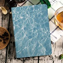 iPad Mini 5 Case Slim Full-Body Shockproof Defender Smart Auto Sleep/Wake Featured for Apple 7.9-inch iPad Mini 5th Generation,Blue Sea Surface with Waves Reflection Aqua,+