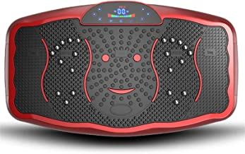 Vibration Plate Oefening Machine, Fitness Platform Home Training, met USB Speaker & Magnetisme Therapy Function en LCD Dis...