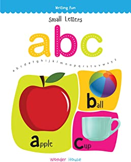 Small Letters ABC: Write and Practice Small Letters A to Z (Writing Fun) Paperback – 25 Apr 2018
