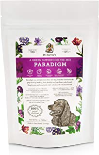 Dr. Harvey's Paradigm Green Superfood Dog Food, Human Grade Dehydrated Grain Free Base Mix for Dogs, Diabetic Low Carb Ket...