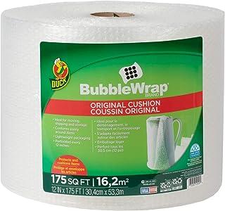 Duck Brand Bubble Wrap Roll, Original Bubble Cushioning, 12