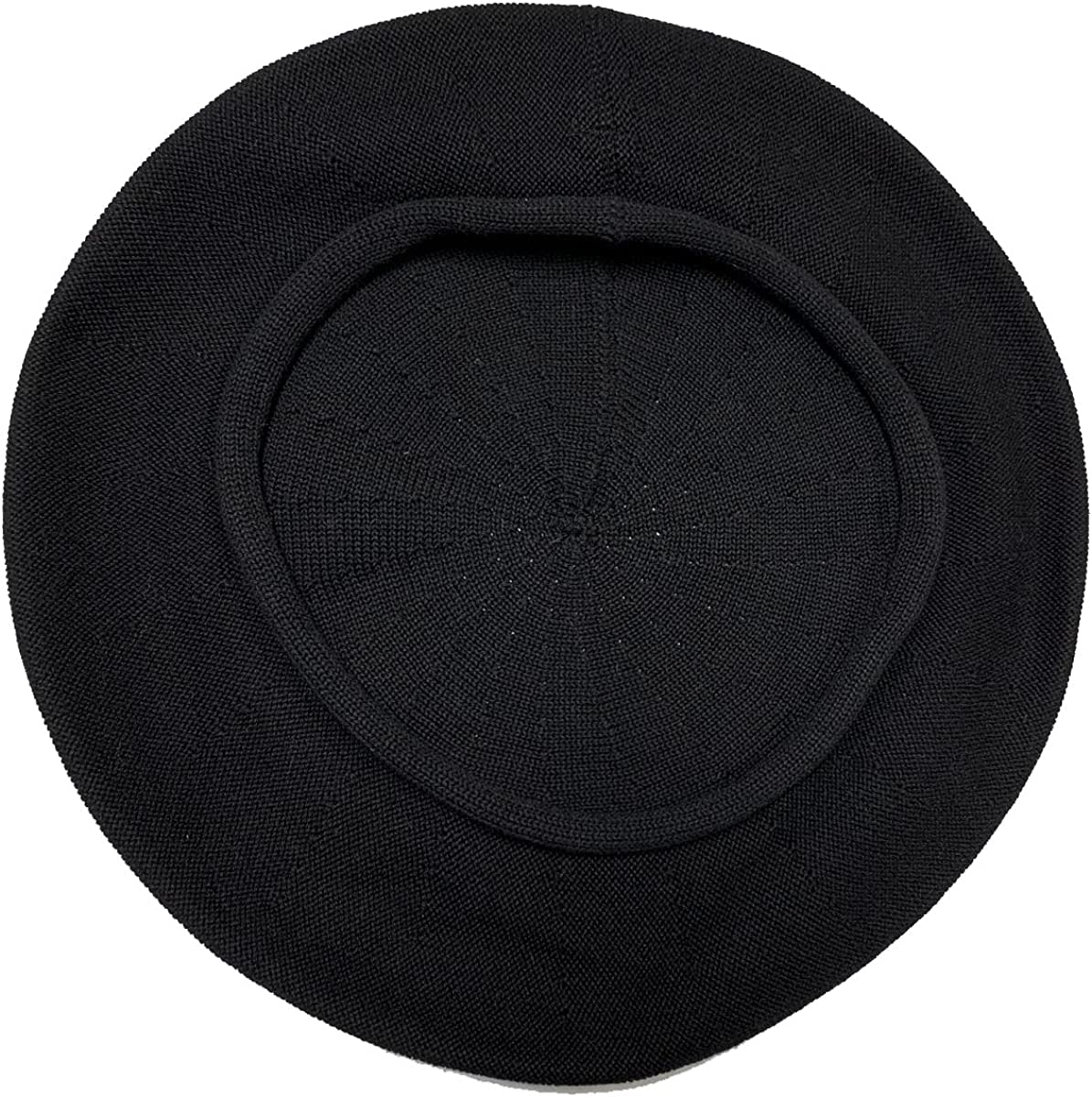 Parkhurst of Canada 10-1/2 Inch Cotton Knit Beret