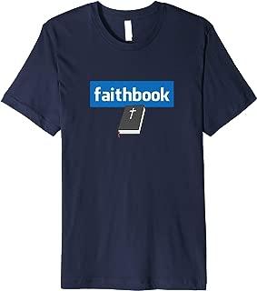 Faithbook - #Faithbook Fitted T-Shirt
