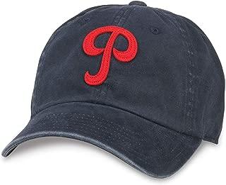 American Needle Archive Vintage USFL Football Philadelphia Stars Dad Hat (44747A-PHS-NAVY)