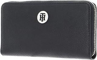 Tommy Hilfiger TH Core Large Zip Around Wallet Black