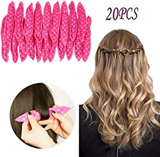 Sponge Flexible Foam Hair Curlers,ARTIFUN 20pcs Soft Sleep Pillow Hair Rollers Set Magic Hair