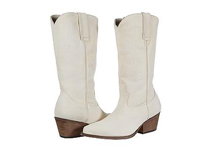 Steve Madden Cowboy Western Boot (Bone Leather) Women