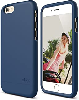 iPhone 6 Case, elago [Glide][Soft Feel Jean Indigo] - [Mix and Match][Premium Armor][True Fit] – for iPhone 6 Only