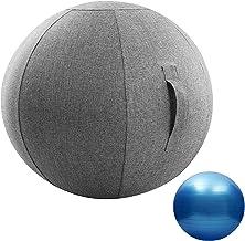 Zitbalstoel Met Hoes En Pomp, Anti-Burst Antislip Stabiliteit Balans Gymbal Ondersteunt Gratis Oefening, Zwangerschap Beva...