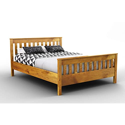 King Size Wooden Bed Frame Amazon Co Uk