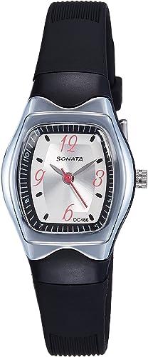 Sonata Analog White Dial Women's Watch NM8989PP03 / NL8989PP03