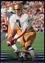 Football NFL 2013 Upper Deck University of Notre Dame #23 Joe Theismann