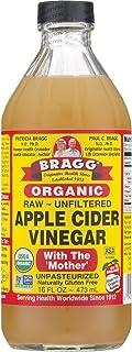 Bragg Organic Raw Apple Cider Vinegar, 16 oz (1 Pack)