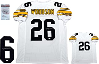 Rod Woodson Signed Custom Jersey - JSA Witnessed- White