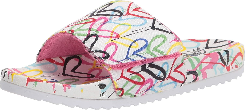 Skechers BOBS Women's 113613 Slide Sandal, WMLT, 10