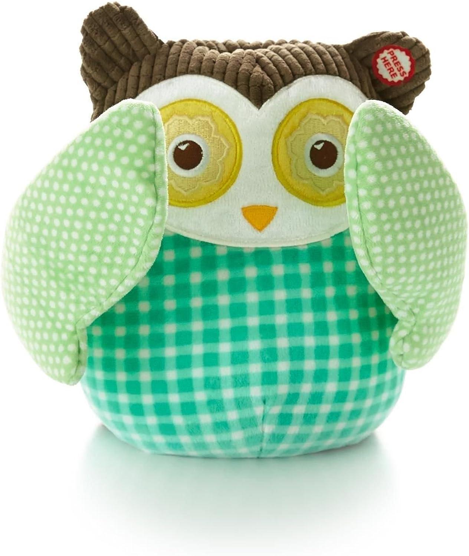Hallmark Baby BBY4434 Interactive Peekaboo Owl Plush