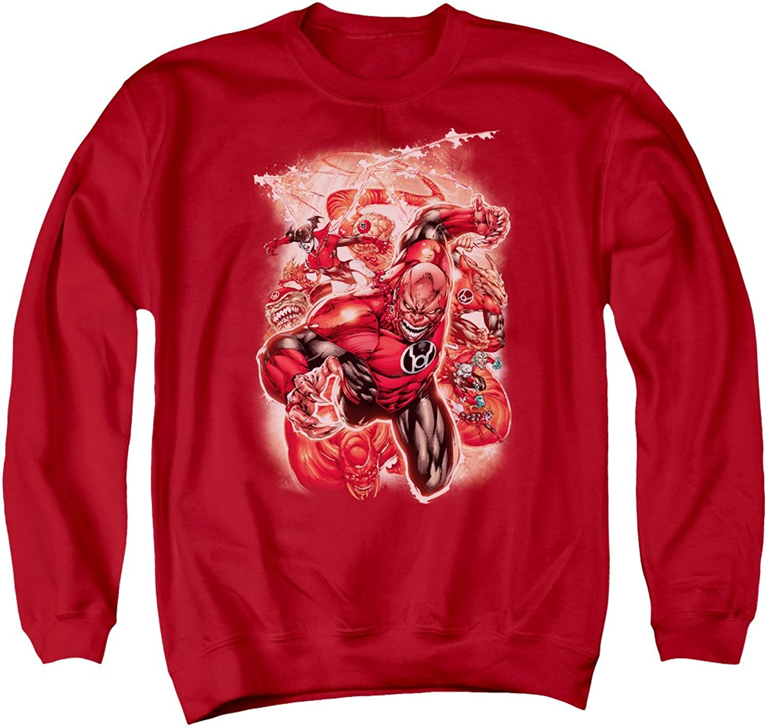 Green Lantern  Mens Red Lanterns  1 Sweater