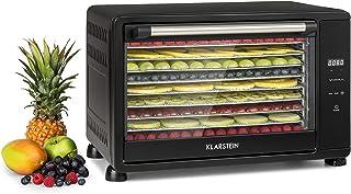 KLARSTEIN Mega Jerky - Déshydrateur alimentaire, Machine à sécher les fruits, 650W, Boîtier métallique, Température: 50-80...