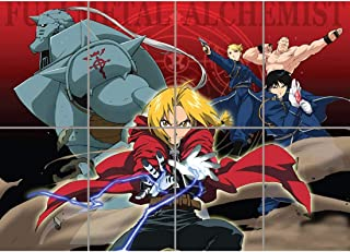 FULLMETAL ALCHEMIST THE ELRIC BROTHERS GIANT POSTER ART PRINT PICTURE G1098