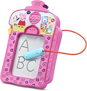 VTech Peppa Pig Scribbles & Sounds Doodle Board - Electronic Draw and Erase Board - 198000